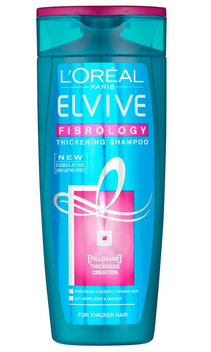 LOreal Elvive Fibrology Thickening Shampoo 400ml