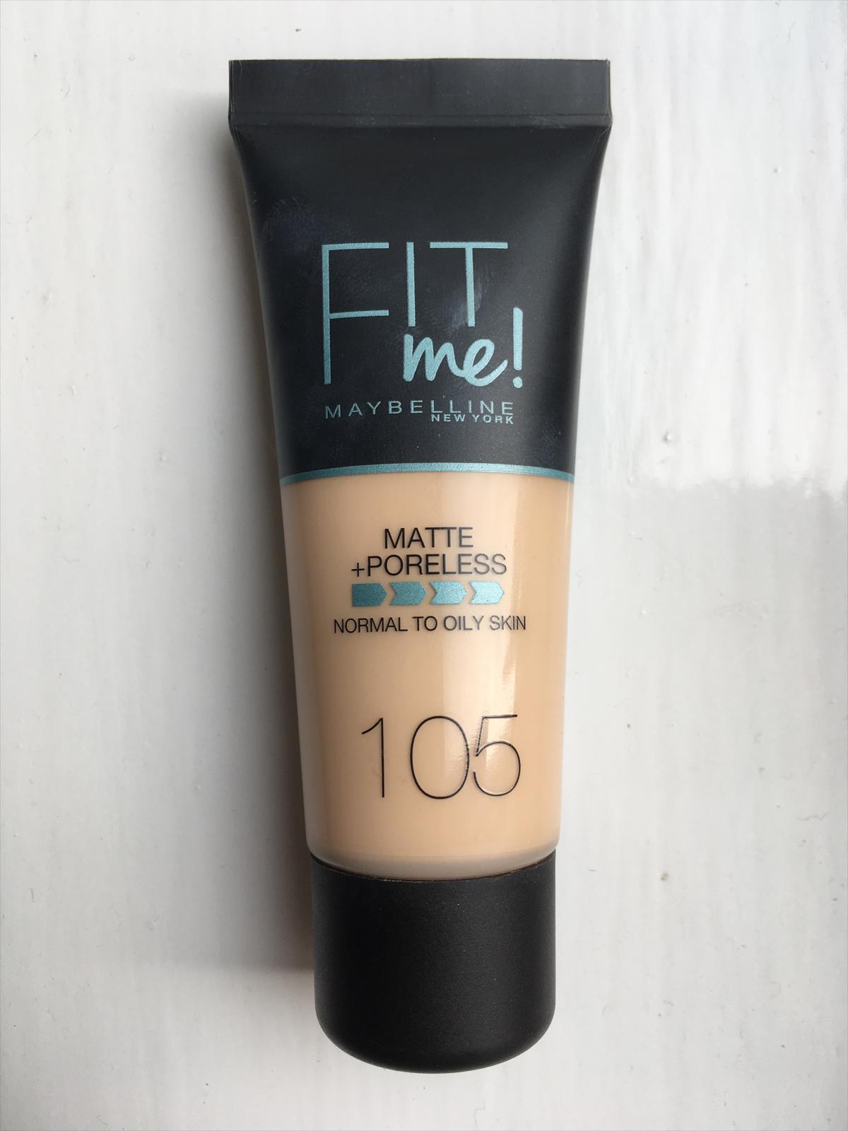 Maybelline Fit Me Matte Poreless Foundation 220 Nat Beige Superdrug
